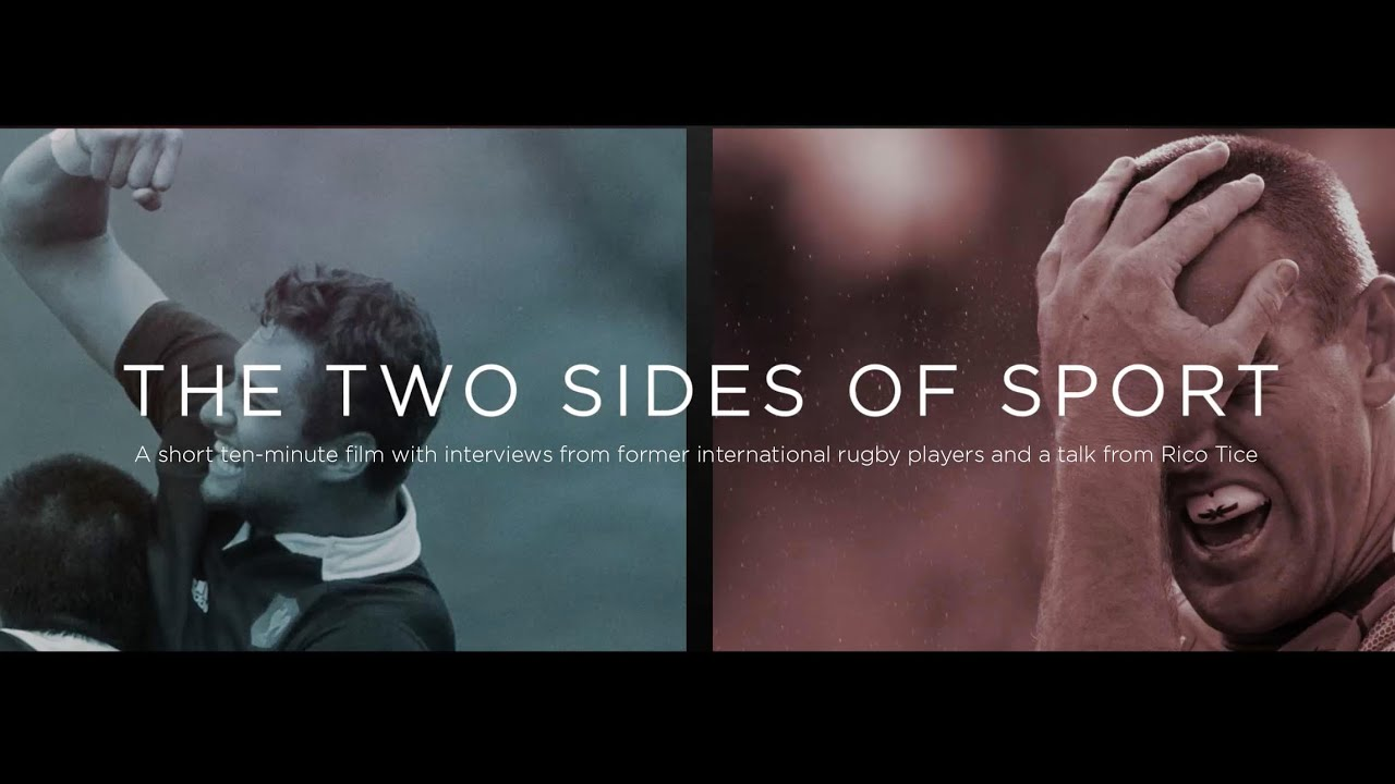 Two sides of sports rugby