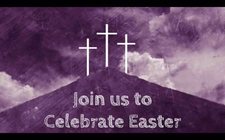Join Us for Easter: Church Service Advert