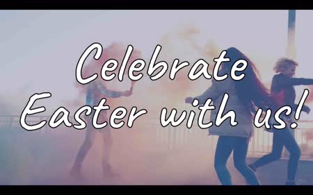 Celebrate Easter: Church Service Advert