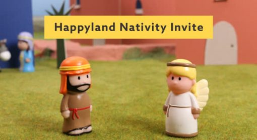 Happyland Invite Template