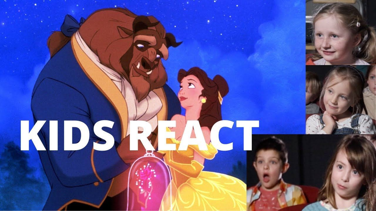 Kids React To Beauty and the Beast