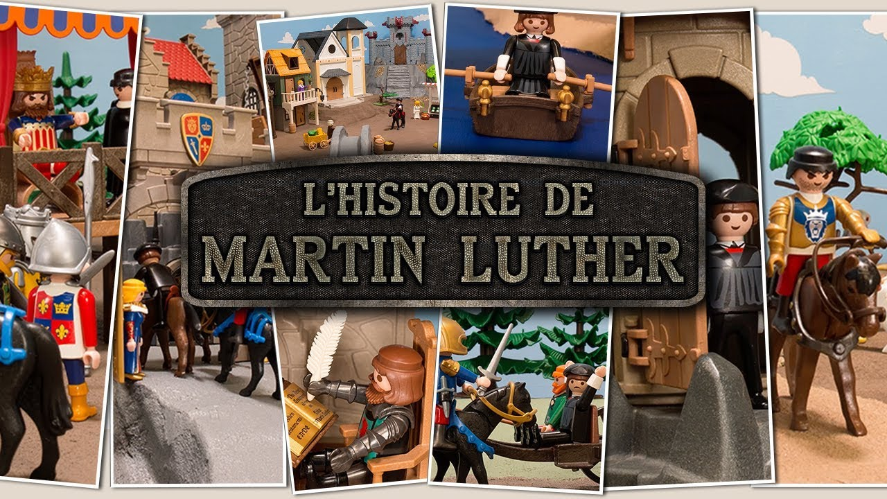L'histoire de Martin Luther (French)