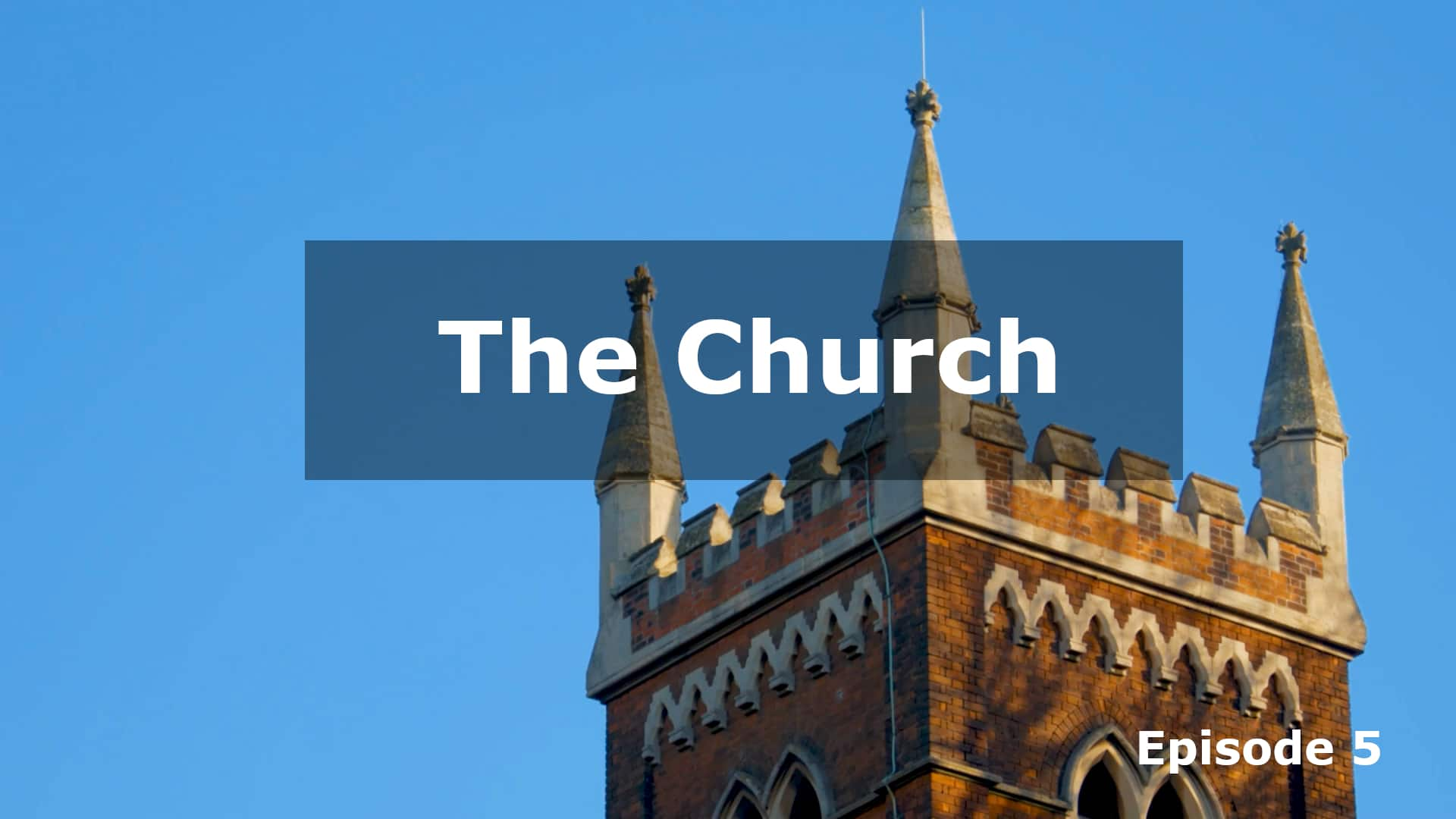 His Work Continues: The Church