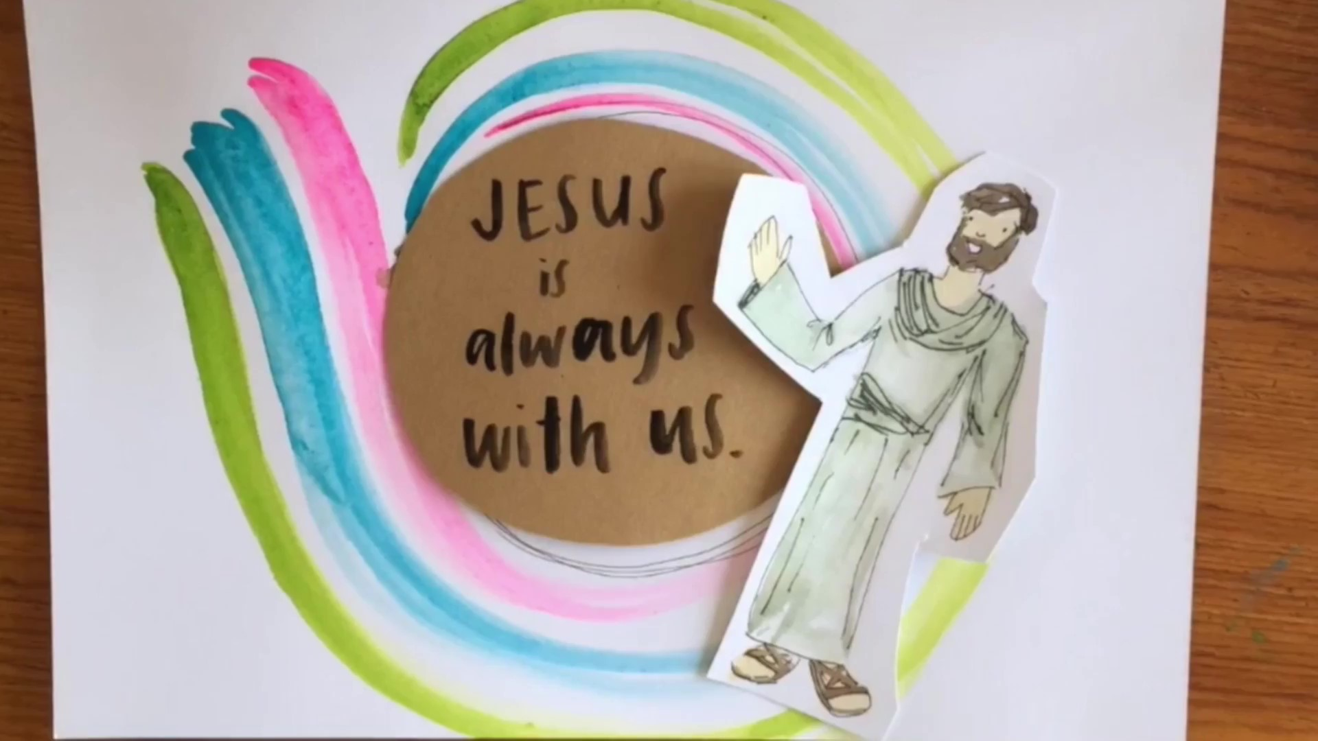 Jesus Is Always With Us