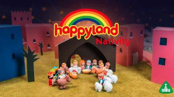 Happyland Nativity Customisable Video