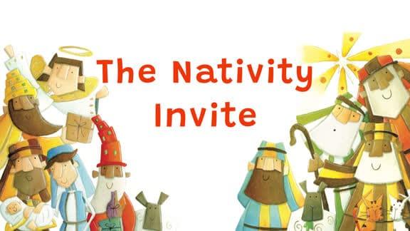 The Nativity Invite