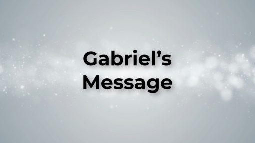 Gabriel's Message Carol Lyric Video (Snow)