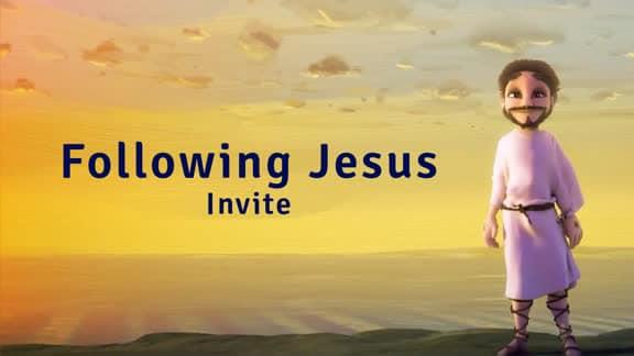 Following Jesus Invite