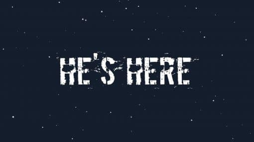 He's Is Here Animation video thumbnail