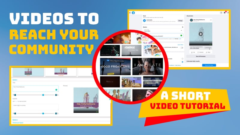 Video to reach your community