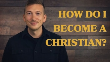How do I become a Christian? Video