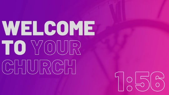 Welcome to Church Electric Invite