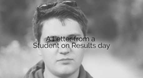 A Letter to Students on Results day