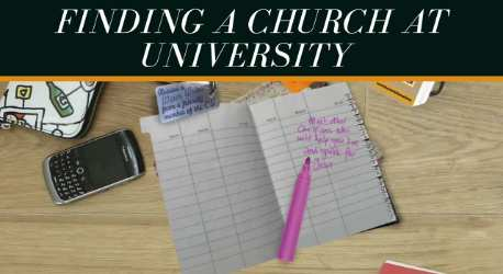 Finding a Church at University