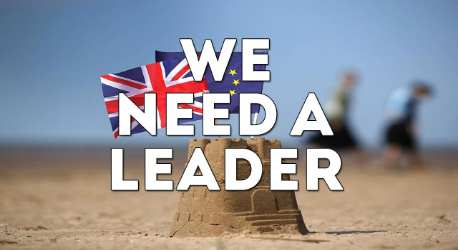 We Need A Leader